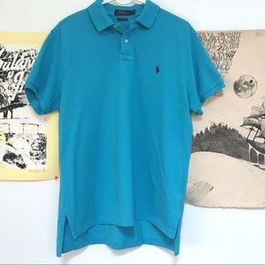 Polo Ralph Lauren bright blue polo